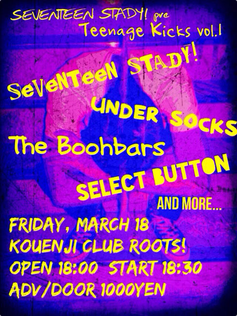 SEVENTEEN STADY! pre Teenage Kicks vol.1